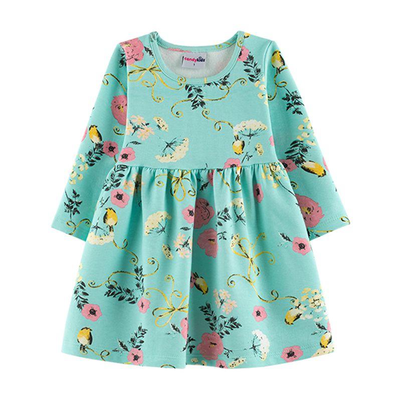 Vestido Infantil Candy Kids Molicotton Bahamas