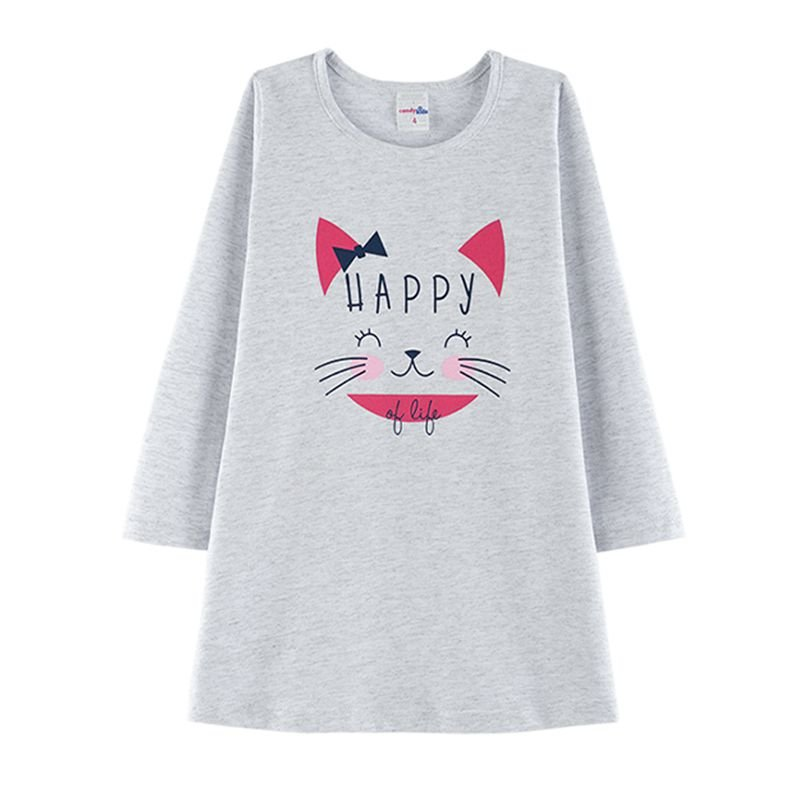 Camisola Happy Infantil Candy Kids Mescla