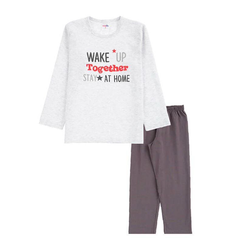 Pijama Wake Up Infantil Menino Candy Kids Mescla