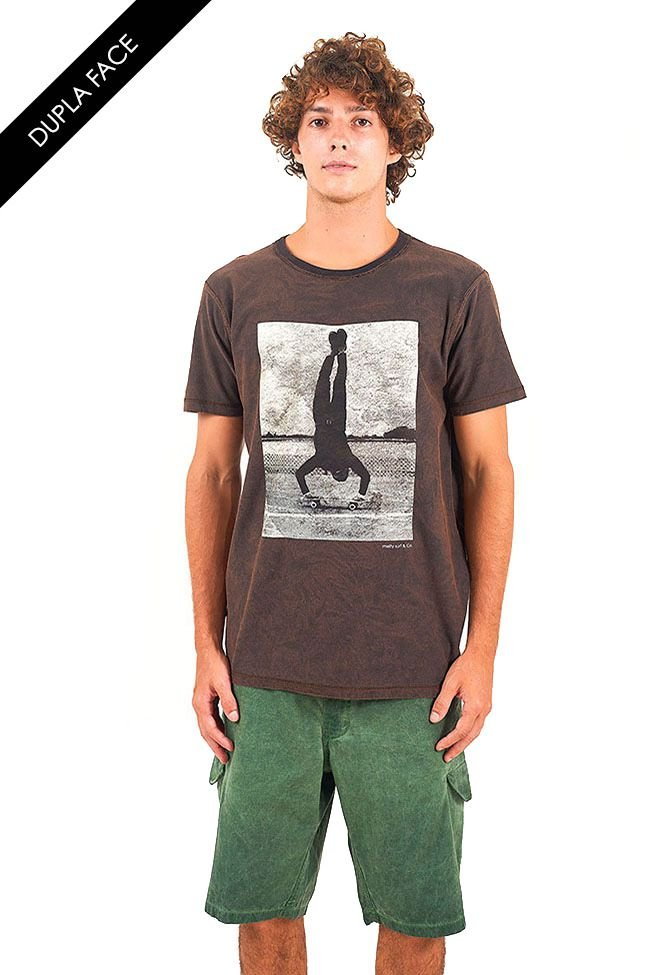 T-Shirt Double never try never know