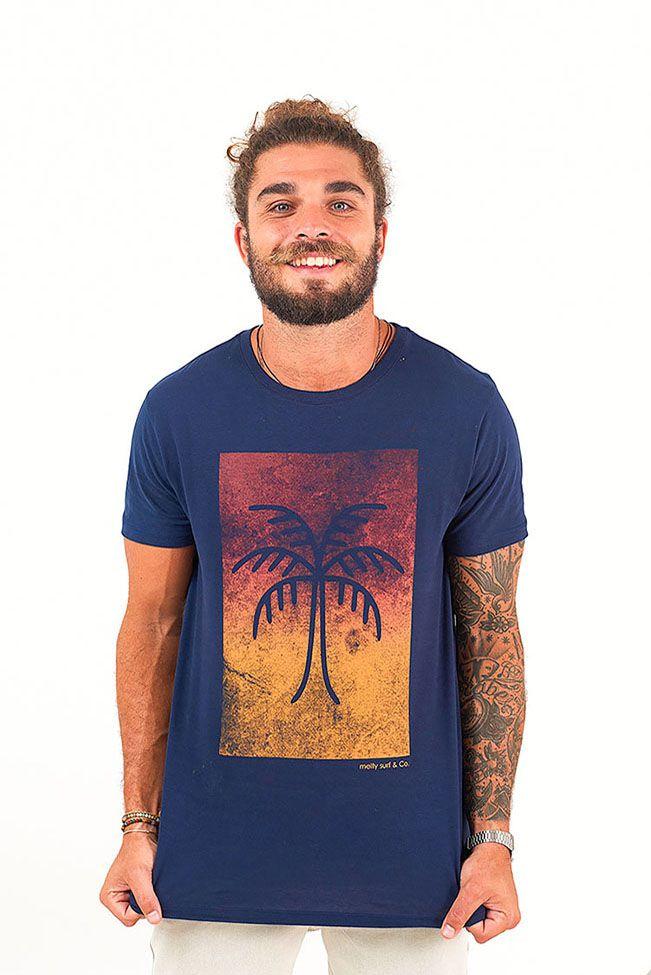 T-Shirt Palmeira Degradê