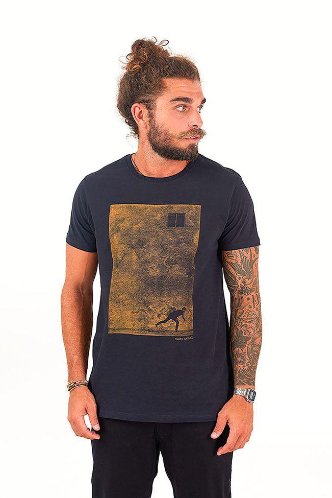 T-shirt Remada Preto