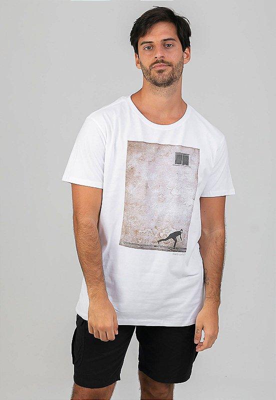 T-shirt Remada Branco
