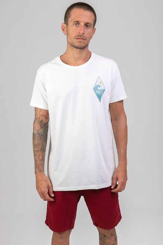 T-shirt Diamond Wave