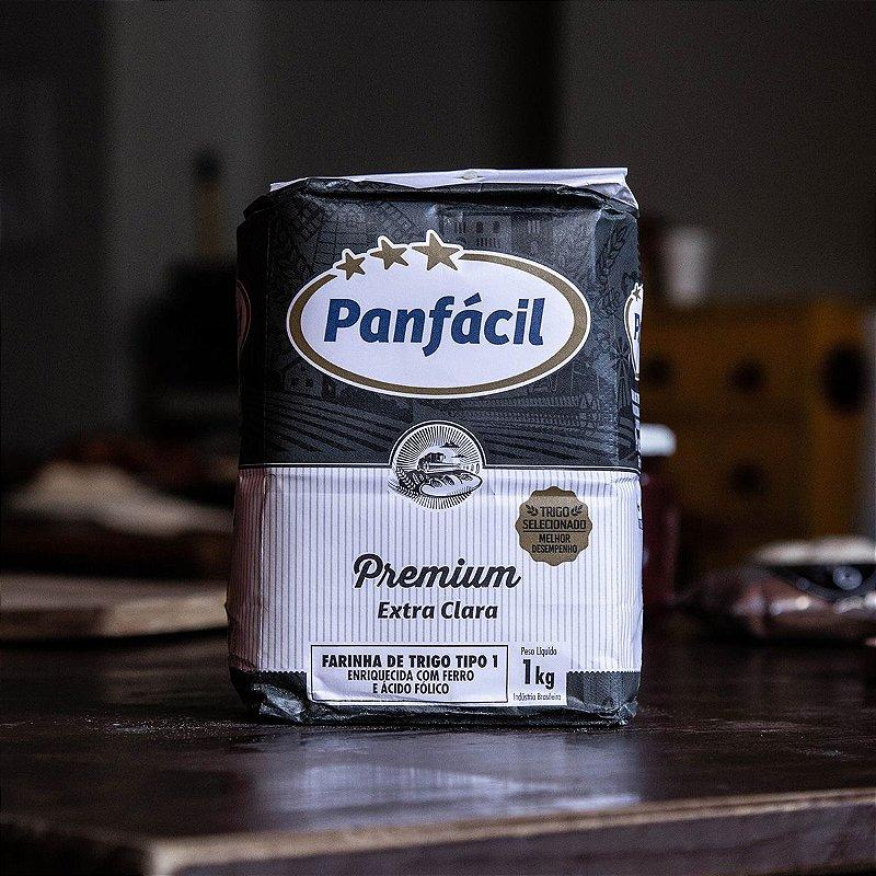 Farinha Panfácil Premium 1kg + Levain + Receita