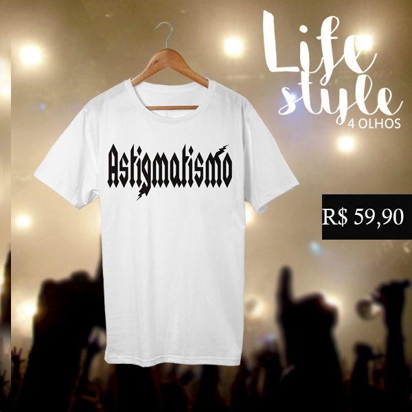 T-shirt | Astigmatismo branca