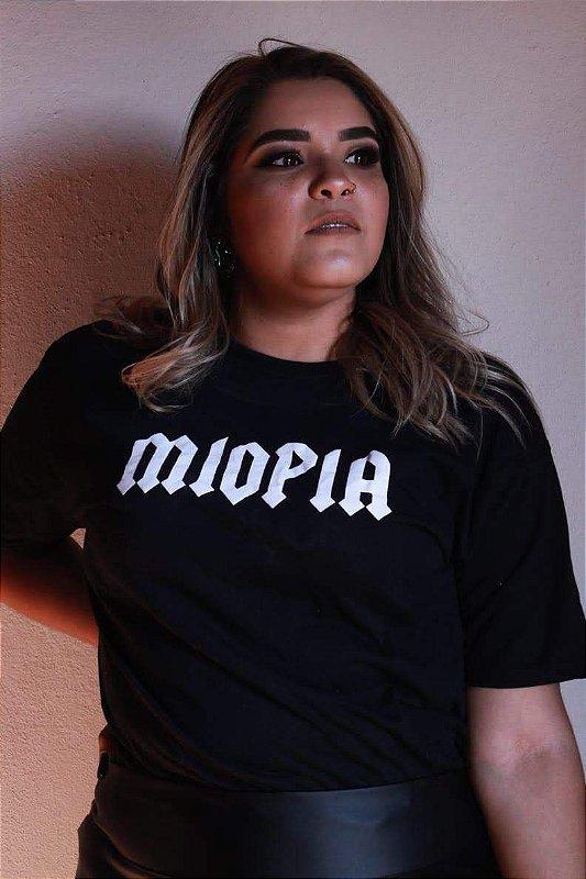 T-shirt| Miopia preta