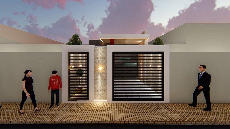 Casa popular 3 quartos