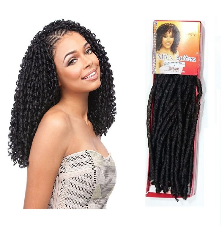 Cabelo Nina Softex - Crochet Braid - ORIGINAL
