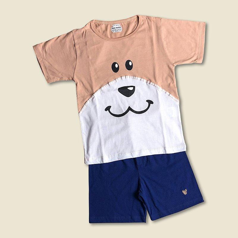Pijama Curto Ursinho Gui