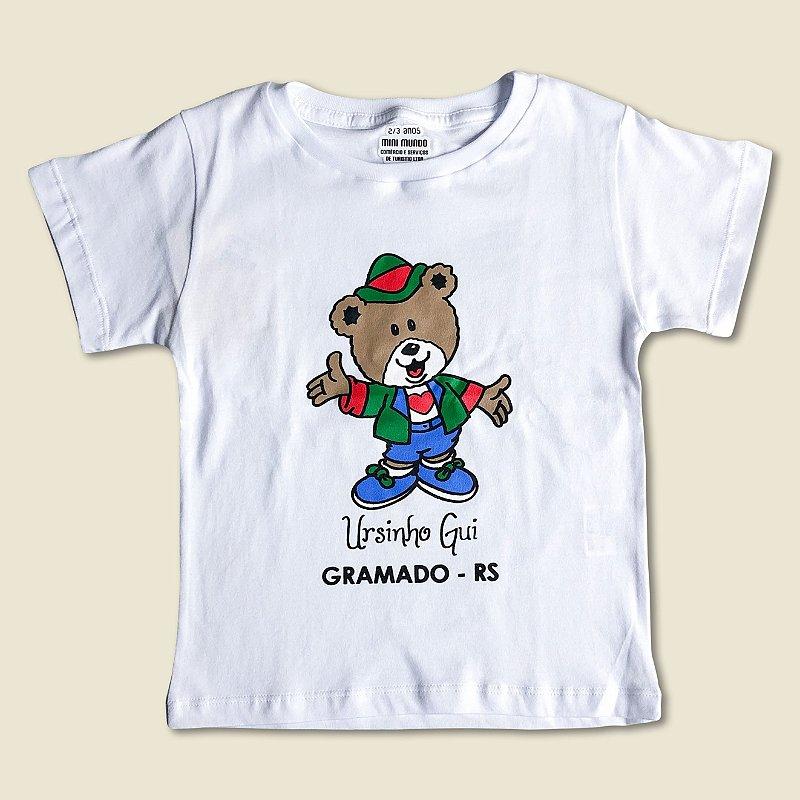 Camiseta Ursinho Gui