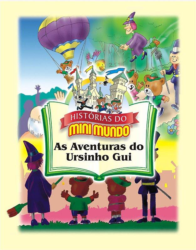 Livro As Aventuras do Ursinho Gui