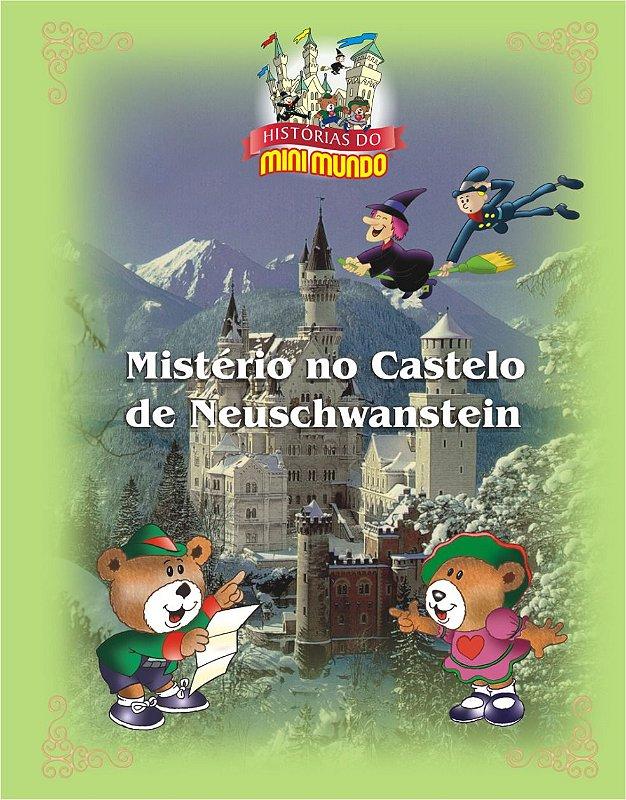 Livro Mistério no Castelo de Neuschwanstein