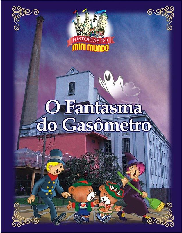 Livro O Fantasma do Gasômetro