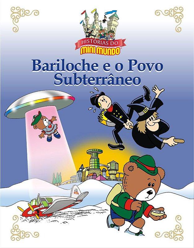 Livro Bariloche e o Povo Subterrâneo