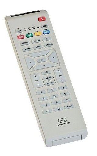 CONTROLE REMOTO TV PHILIPS C0769 MXT RC1683702/01 VÁRIOS MODELOS