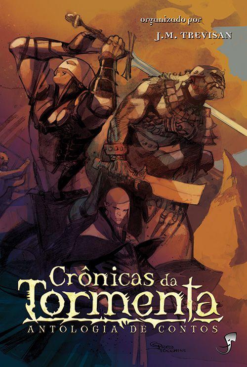 CRÔNICAS DA TORMENTA ANTOLOGIA DE CONTOS LIVRO ROMANCE RPG TORMENTA