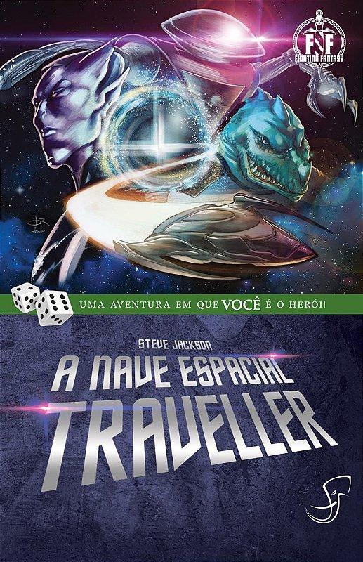 A NAVE ESPACIAL TRAVELLER STEVE JACKSON LIVRO JOGO RPG