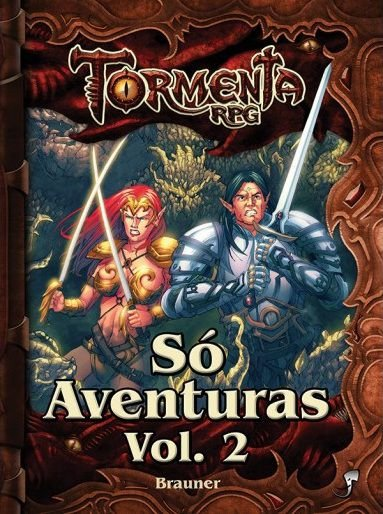 SÓ AVENTURAS VOL. 2 TORMENTA LIVRO RPG