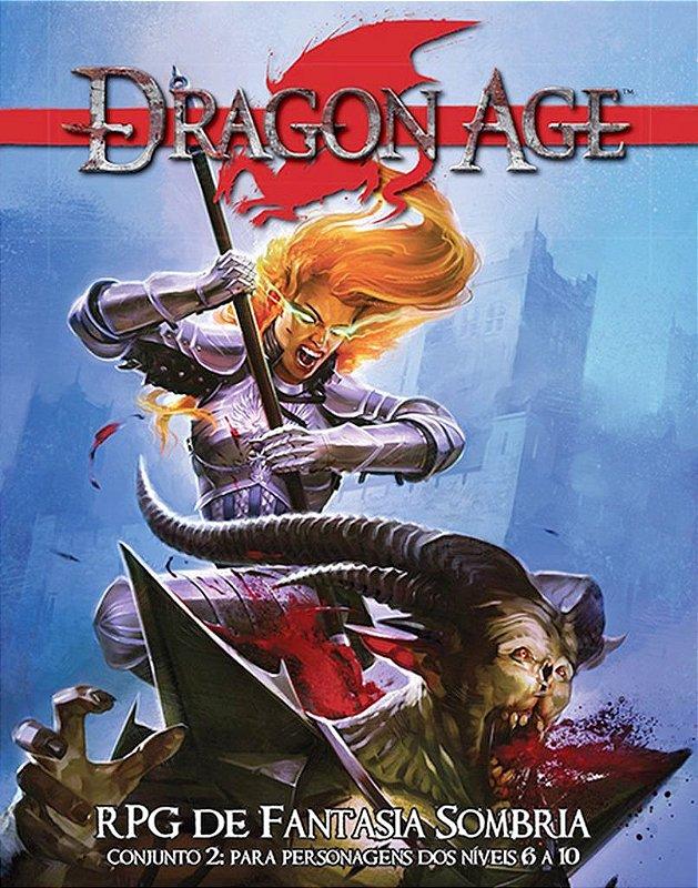 CAIXA DRAGON AGE RPG CONJUNTO 2