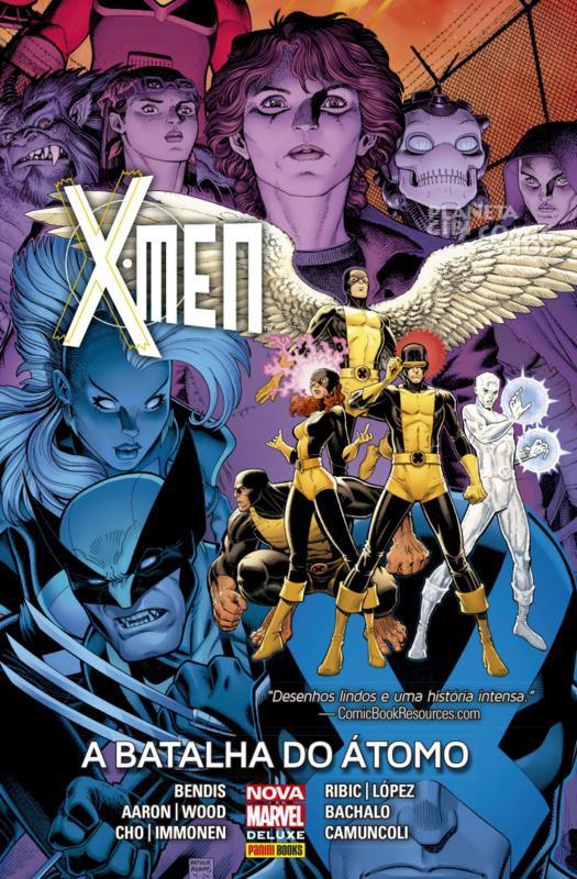 X-MEN A BATALHA DO ÁTOMO HQ PANINI CAPA DURA LACRADO