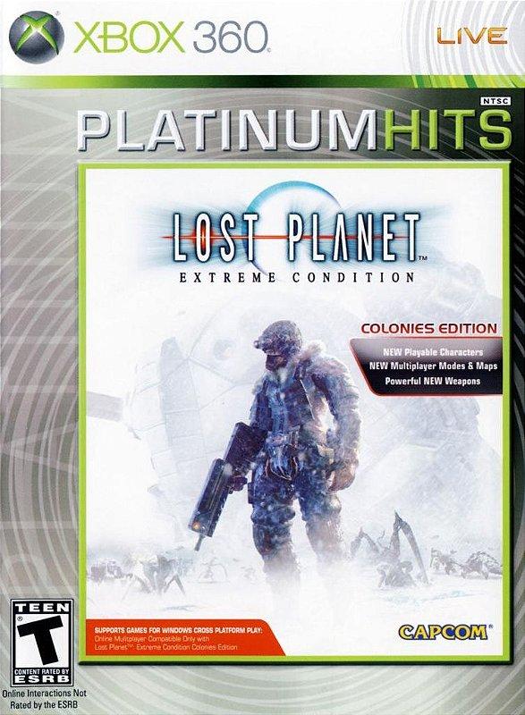 LOST PLANET EXTREME CONDITION COLONIES EDITION XBOX 360 LACRADO