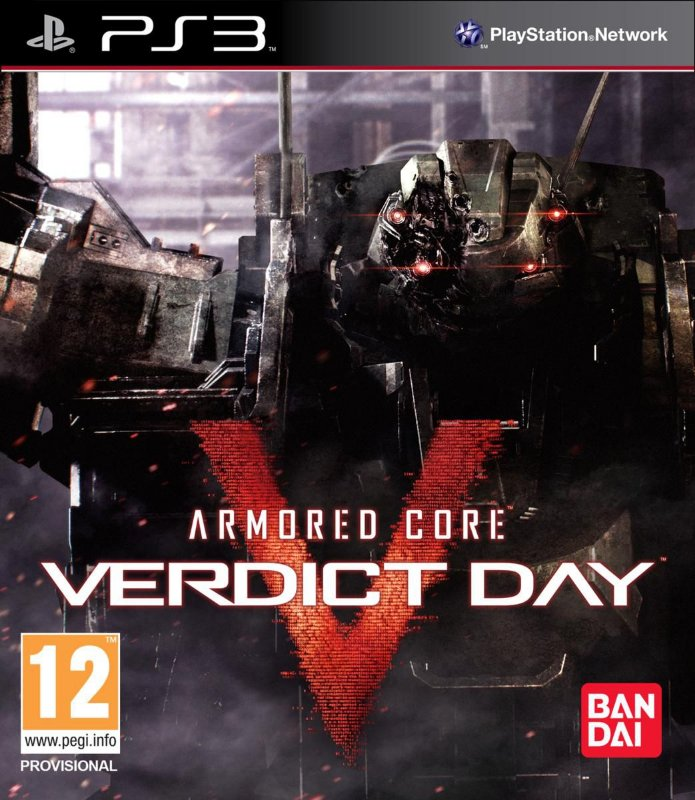 ARMORED CORE VERDICT DAY PS3 FÍSICA LACRADO