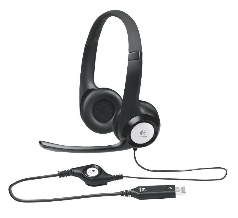 LOGITECH H390 FONE DE OUVIDO HEADSET USB 2.0 PC NOTEBOOK CHROME OS