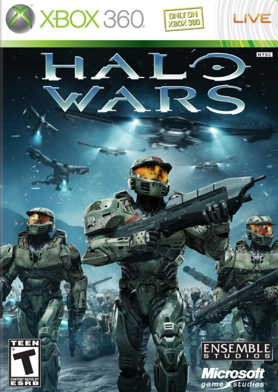 HALO WARS XBOX 360 MÍDIA FISICA LACRADO