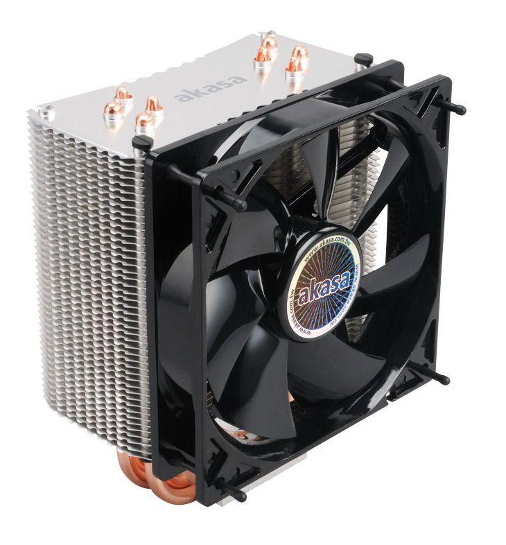 COOLER GAMER P/ PROCESSADOR INTEL E AMD AKASA NERO 3 AK-CC4007EP01