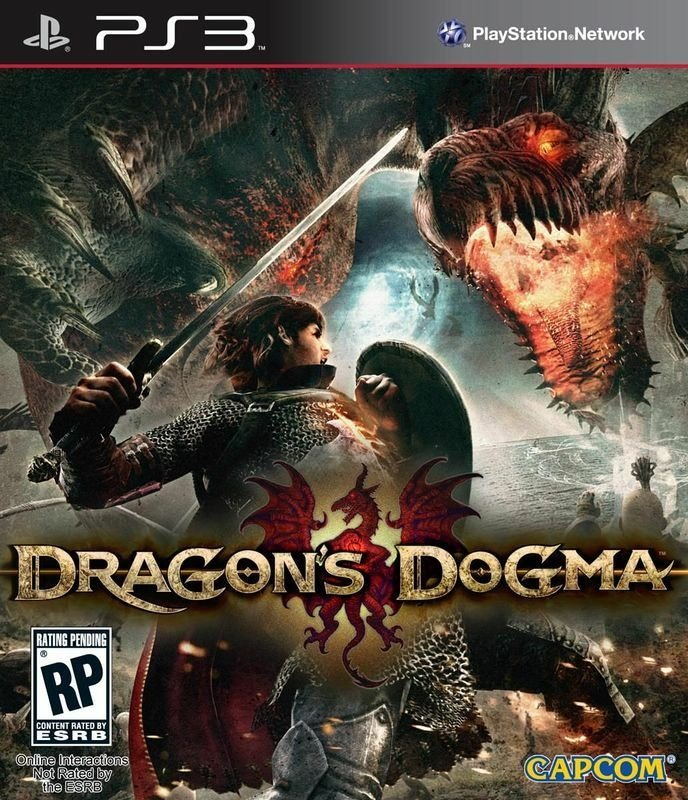 DRAGON`S DOGMA PS3 NOVO LACRADO