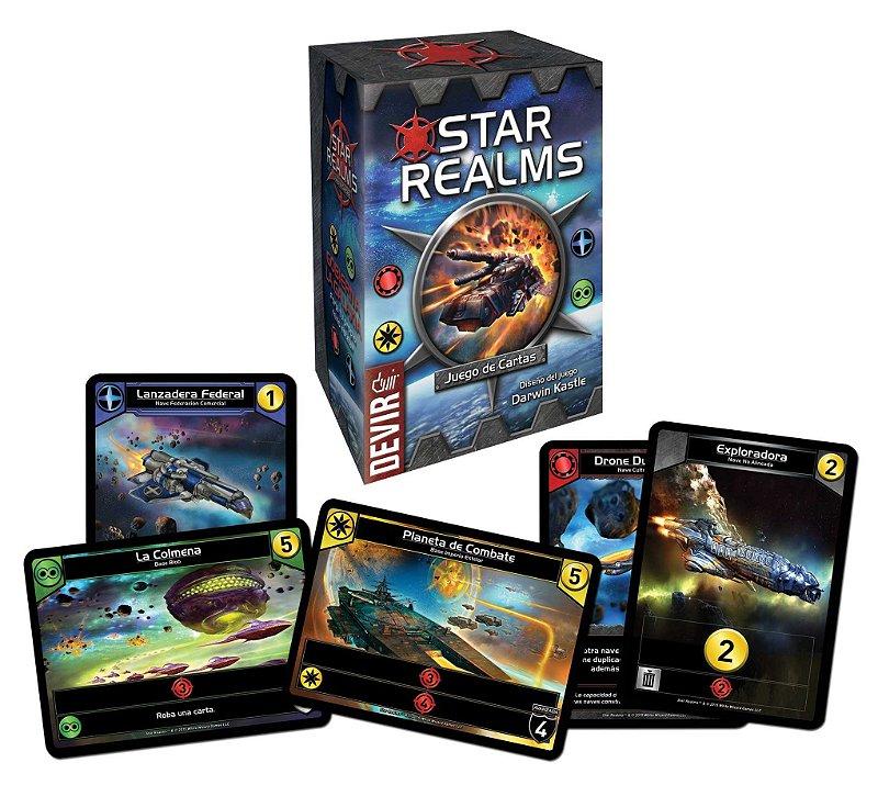 STAR REALMS JOGO DE CARTAS CARD GAME PORTUGUES LACRADO