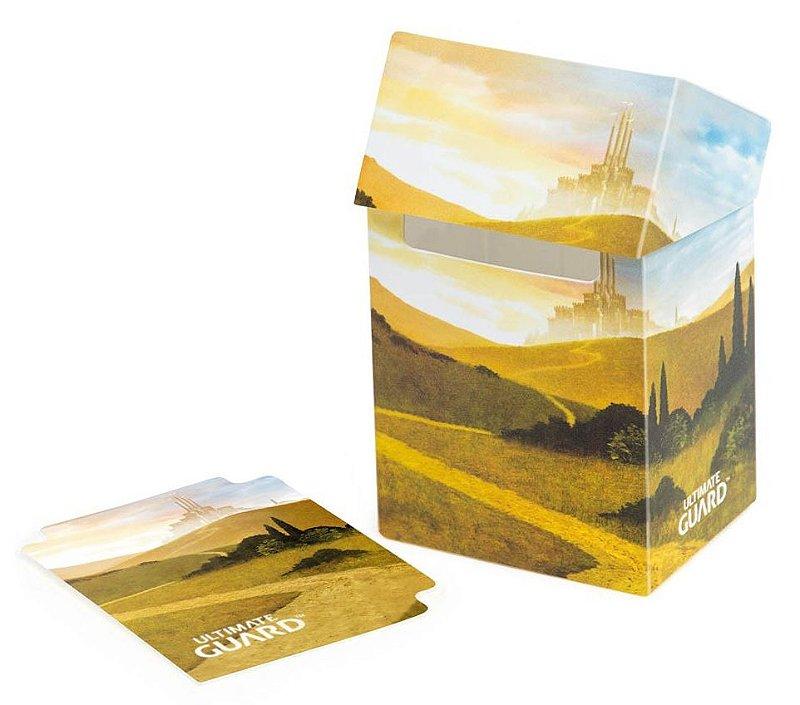DECK BOX PORTA CARTAS ULTIMATE GUARD PLAINS I P/ YU-GI-OH! POKÉMON MAGIC