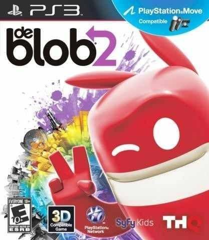 DE BLOB 2 PS3 NOVO LACRADO