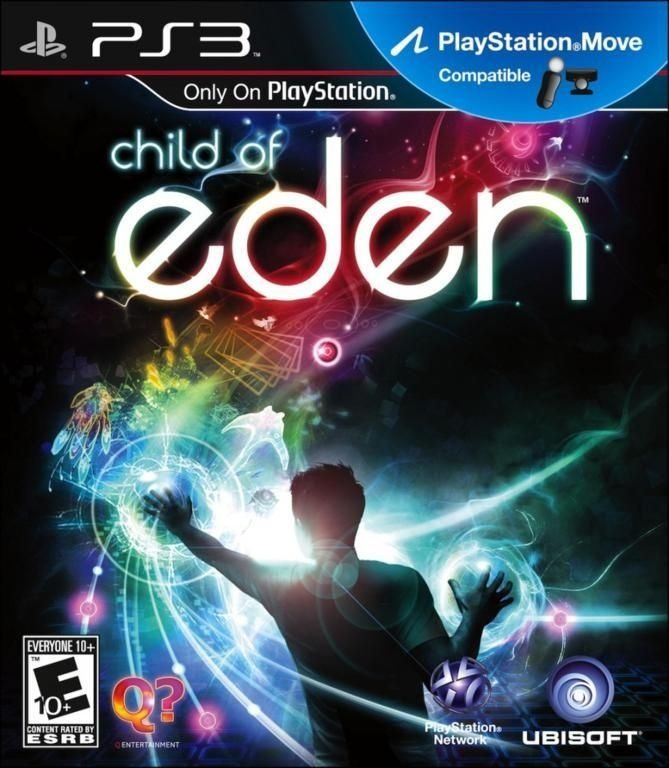 CHILD OF EDEN PS3 NOVO LACRADO
