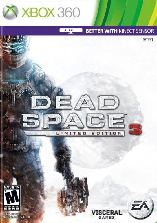 DEAD SPACE 3 LIMITED EDITION XBOX 360 NOVO LACRADO