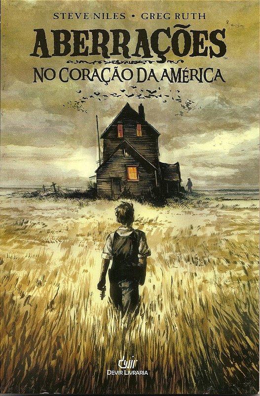 ABERRACOES NO CORACAO DA AMERICA STEVE NILES DEVIR QUADRINHOS HQ