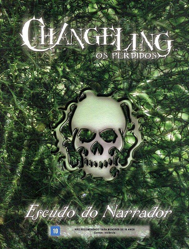 CHANGELING OS PERDIDOS ESCUDO DO NARRADOR LIVRO RPG DEVIR LACRADO