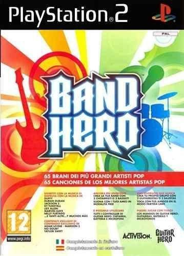 Jogo Band Hero Ps2 Novo Lacrado