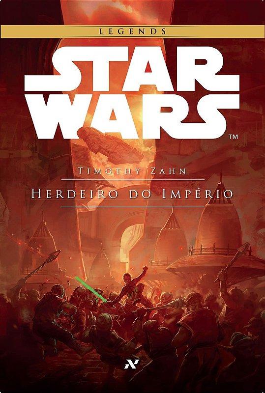 LIVRO STAR WARS HERDEIRO DO IMPÉRIO EDIT ALEPH LACRADO