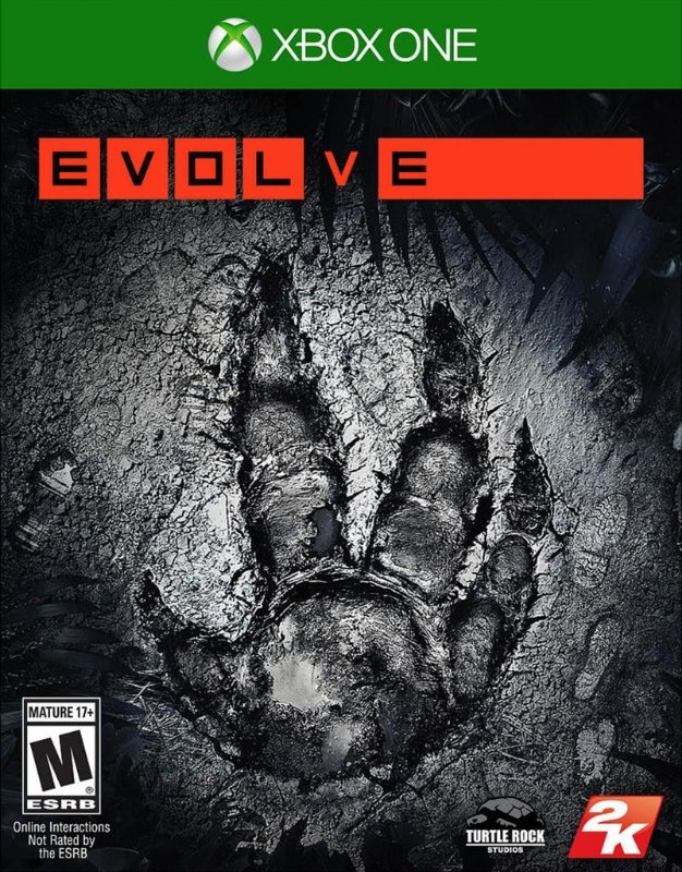 EVOLVE XBOX ONE EM PORTUGUES NOVO LACRADO