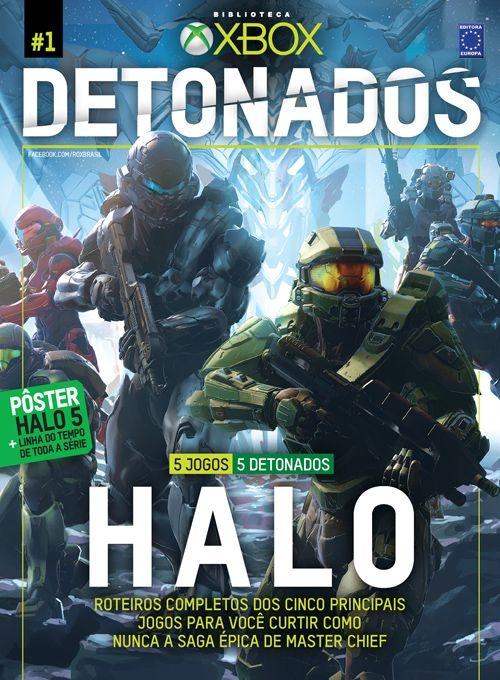 HALO REVISTA DETONADOS XBOX EDIÇÃO ESPECIAL LACRADO