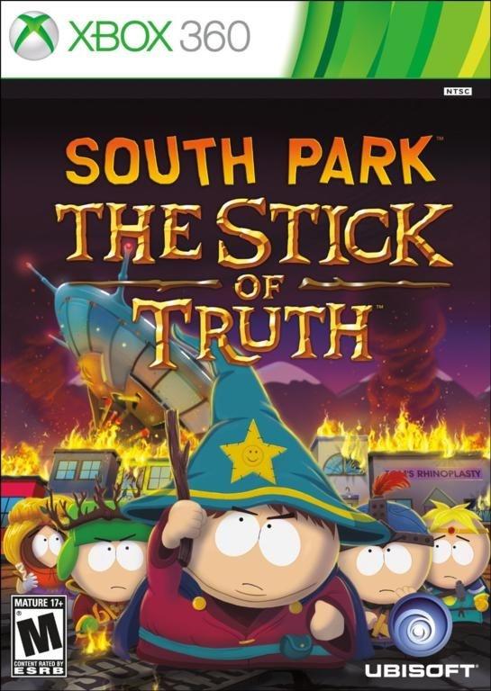 SOUTH PARK THE STICK OF TRUTH XBOX 360 LACRADO LEGENDADO