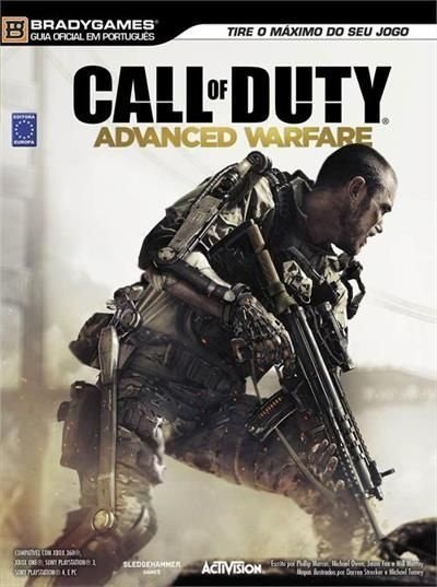 CALL OF DUTY ADVANCED WARFARE LIVRO GUIA OFICIAL PORTUGUÊS LACRADO