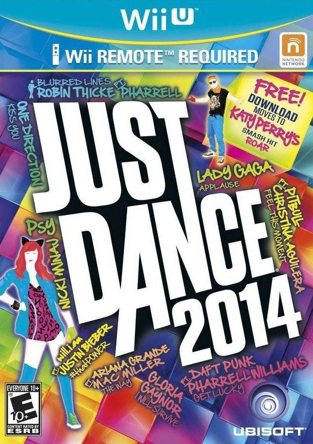 JUST DANCE 2014 WII U EM PORTUGUÊS NOVO LACRADO