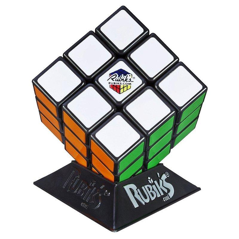RUBIKS CUBO MAGICO 3X3X3 HASBRO COM BASE LACRADO