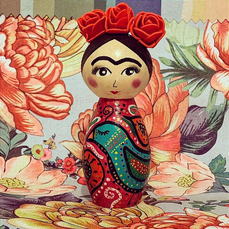 Boneca Frida Pássaros