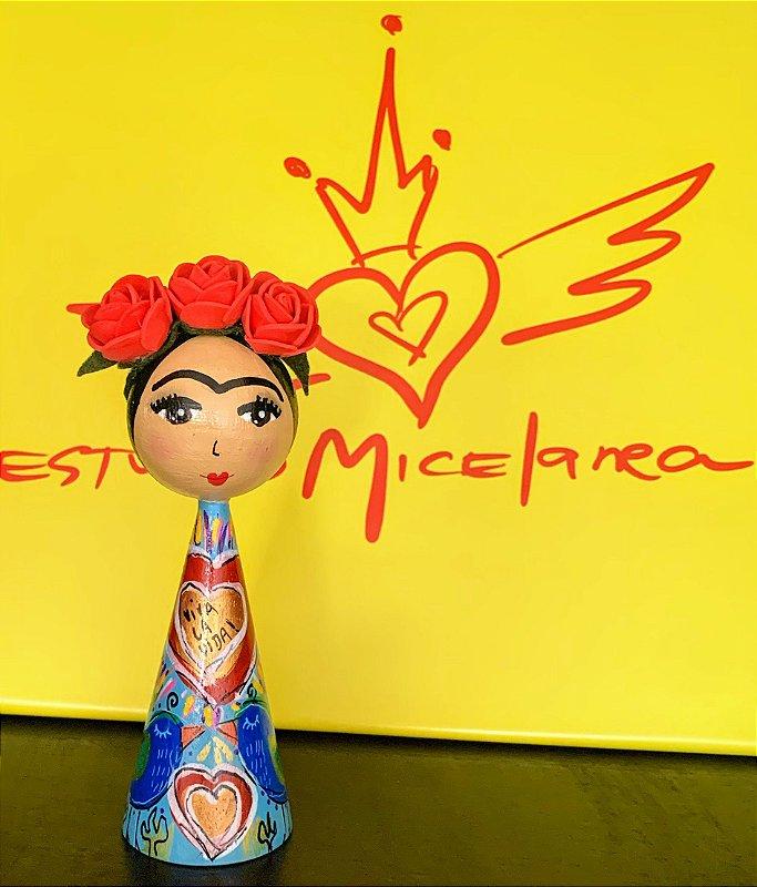 Boneca Frida passarinhos P