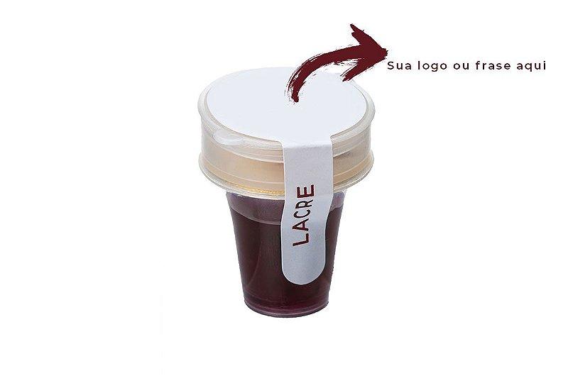 Kit Santa Ceia Personalizado - caixa com 48 cálices