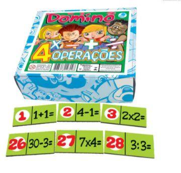 DOMINO DAS 4 OPERACOES
